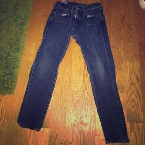 Levi 512 Slim Taper Dark Wash Jeans
